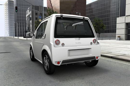 Elektroauto METRO Buddy von Hinten