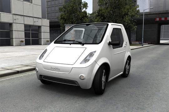 Elektroauto METRO Buddy von Vorne
