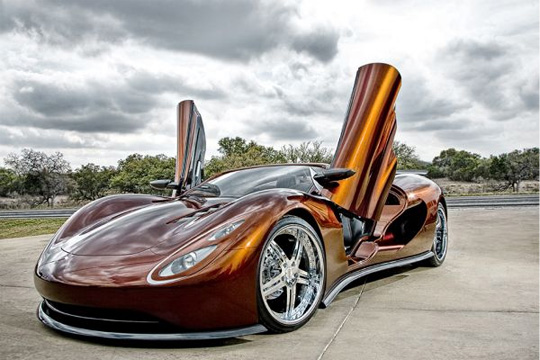Ronn Motor Company: Supersportwagen Scorpion