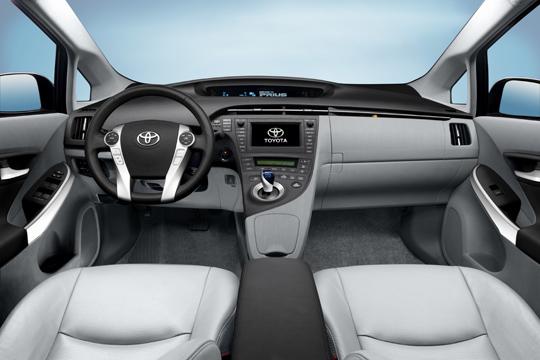 Toyota Prius - Dritte Generation Cockpit Ansicht