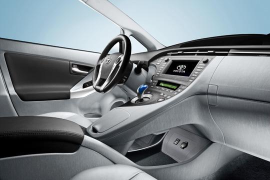 Toyota Prius - Dritte Generation Innenansicht
