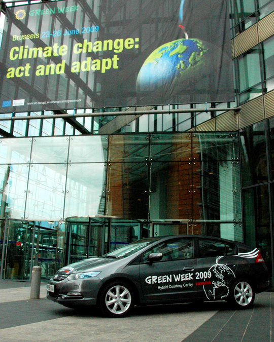 Honda Insight auf der Green Week Conference