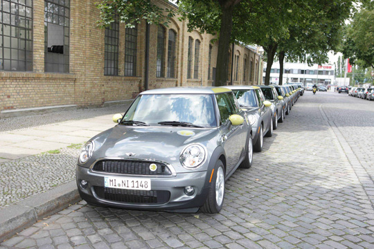MINI E Berlin powered by Vattenfall