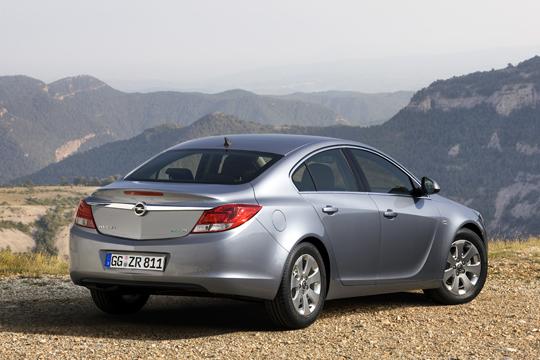 Opel Insignia ecoFLEX von Hinten