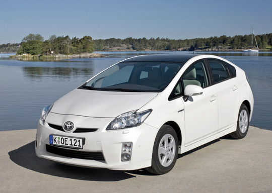 Hybridfahrzeug: Toyota Prius der 3. Generation