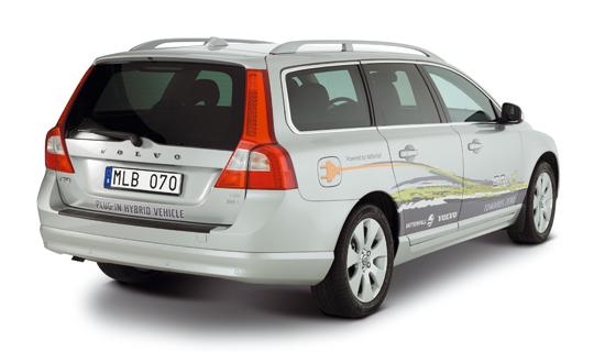 Volvo V70 Plug-in Hybrid Konzept