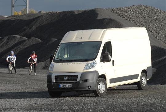 Beispiel: Fiat Ducato Grossraumkastenwagen