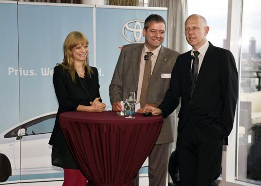 Heike Makatsch ist neue Botschafterin für den Toyota Prius