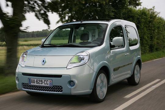 Renault testet Elektroauto Kangoo be bop Z.E.