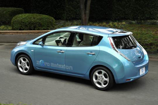 nissan leaf - weltweit meistverkauftes elektroauto