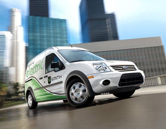 Ford Transit Connect BEV