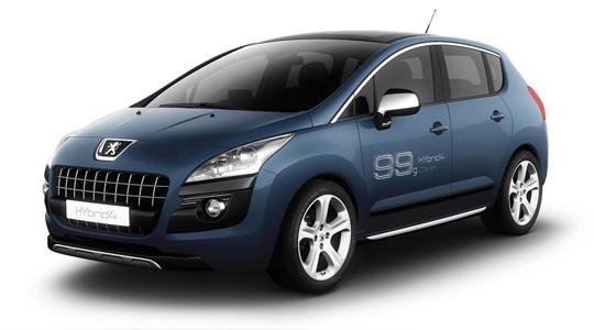 Peugeot Studie 3008 HYbrid4