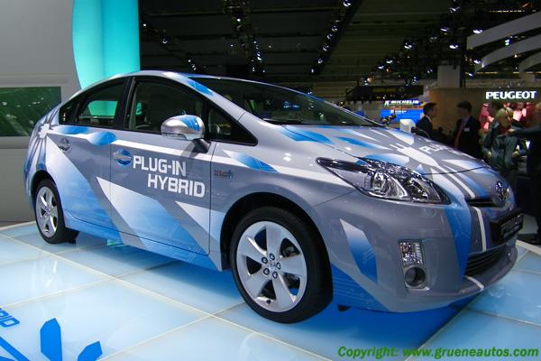 Toyota Prius Plug-In Hybrid auf der IAA 2009