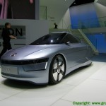 VW 1-Liter-Auto auf der IAA 2009