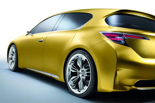 Vollhydrid Konzeptstudie Lexus LF-Ch Hybrid