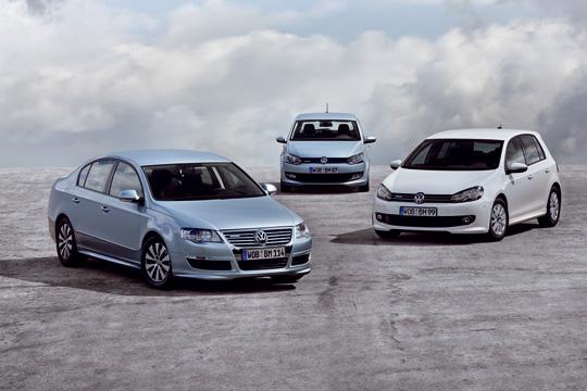 Extrem sparsame VW BlueMotion Modelle