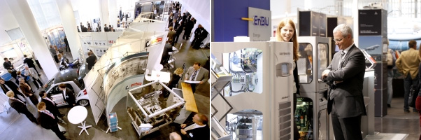 f-cell Messe & f-cell-Stand der EnBW