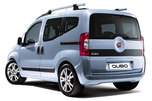 Fiat Qubo Natural Power (Rückseite)