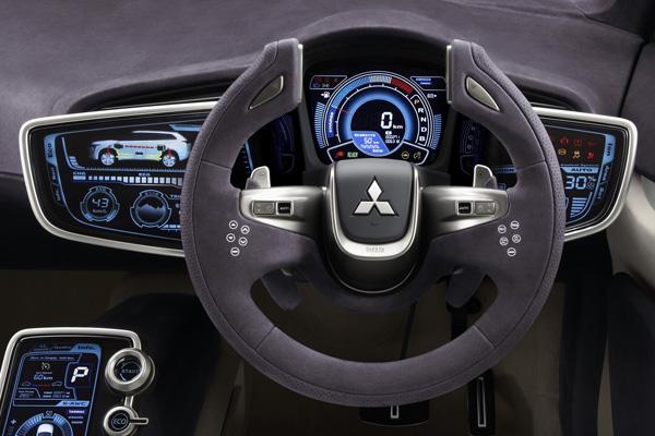 Mitsubishi Concept PX-MiEVterradmotor Cockpit