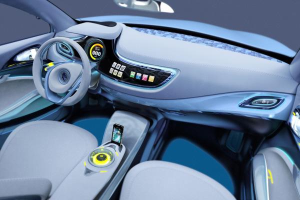 Renault Fluence Z.E. Concept Innenraum
