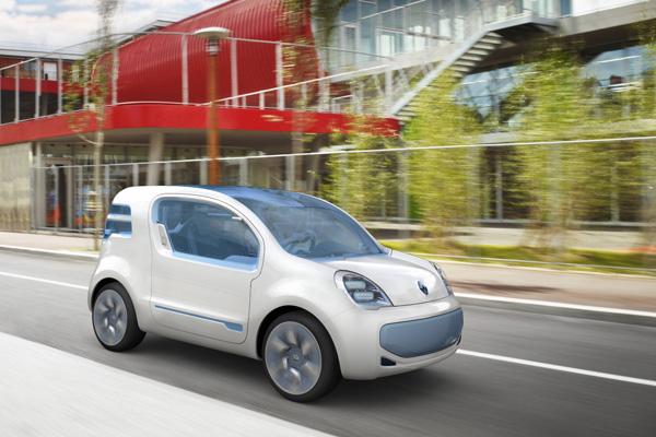 Renault Kangoo Rapid mit Elektroantrieb