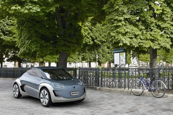Renault Elektroauto-Studie Zoe ZE Concept