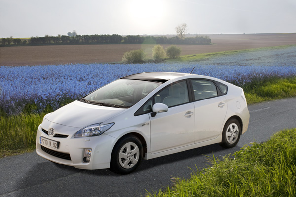 Toyota Prius Hybrid: Gewinner des Grünen Lenkrads