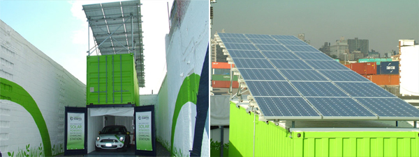 Beautiful Earth Group: Container als Elektroauto-Ladestation