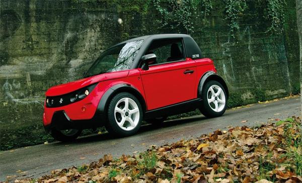 deutschlandpremiere elektroauto tazzari zero auf der abf in hannover gr ne autos. Black Bedroom Furniture Sets. Home Design Ideas