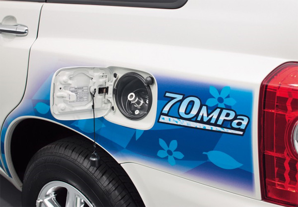Toyota FCHV Brennstoffzellenfahrzeug