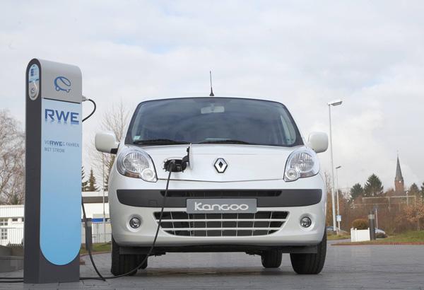 E-Auto Renault Kangoo ZE Concept