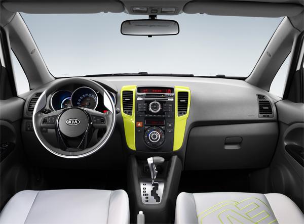 E-Auto Kia Venga EV Innen (Studie)