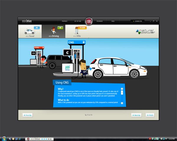 Spritspar-Programm eco:Drive jetzt auch für Fiat Erdgas-Autos