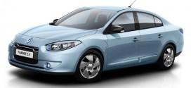 Serienmodell des E-Autos Renault Fluence Z.E.