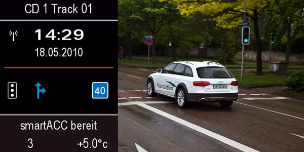 Effizientes Fahren in der Stadt - das Audi-Projekt travolution