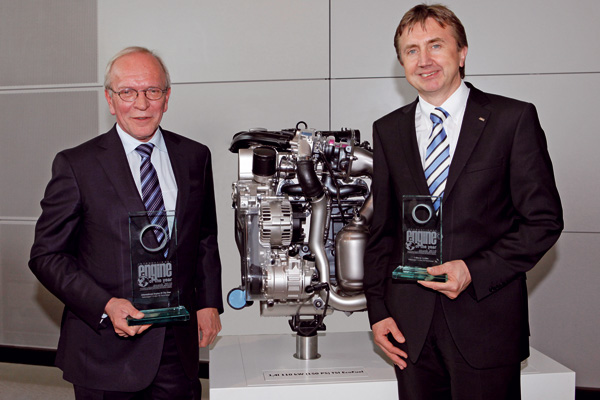 Engine of the Year-Trophäen für TSI-Technologie