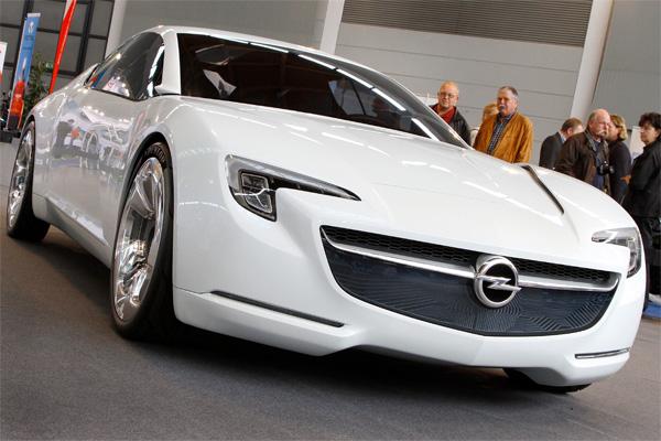 Elektro-Flitzer Opel GT E Flextreme