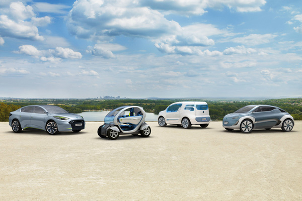 Elektroautos der Zukunft von Renault