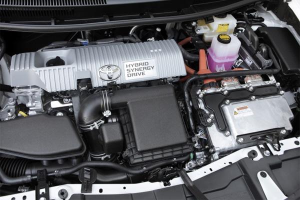 Toyota Hybridantrieb im Auris
