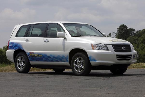 Brennstoffzellenfahrzeug Toyota FCHV-adv