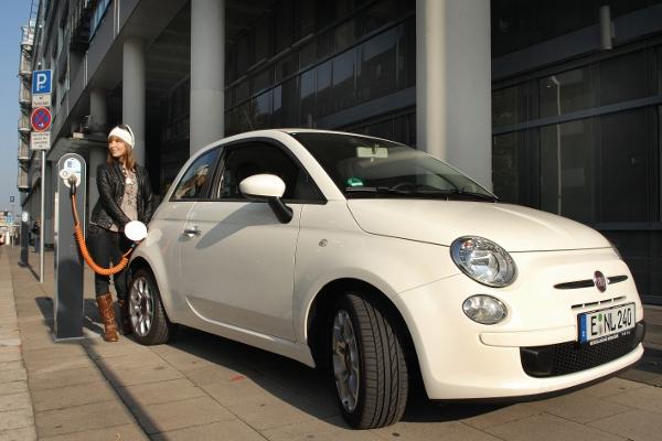 Elektro Fiat 500