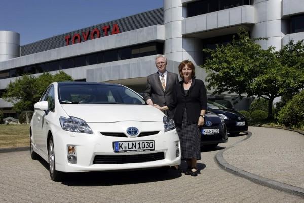 Toyota Prius für die Bürgermeister von Köln