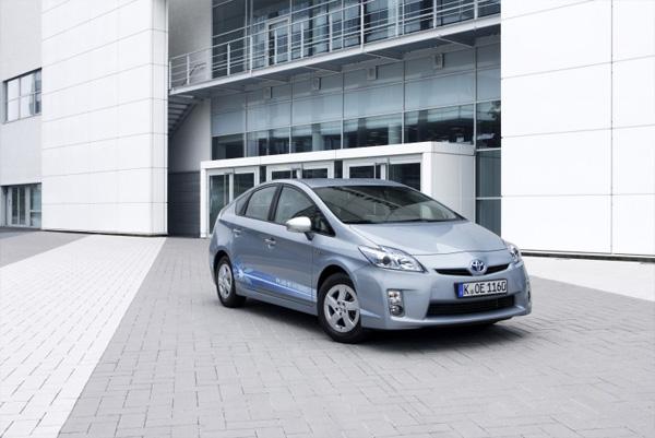 Toyota Prius Plug-In Variante mit vergößerter elektrischer Reichweite