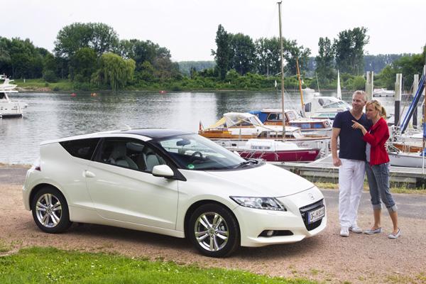 Honda CR-Z mit 5 Sternen beim EuroNCAP Crash-Test