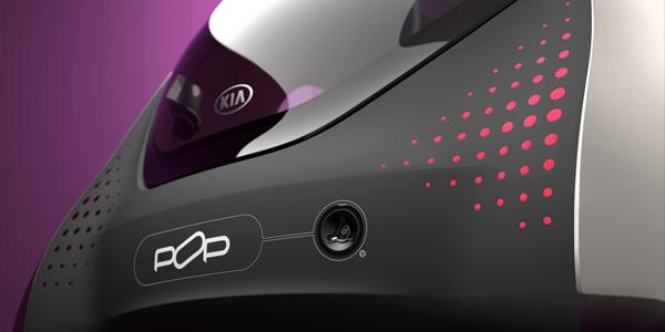 KIA Elektroauto-Studie POP