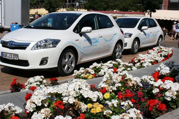 Toyota Auris Hybrid Sommertour