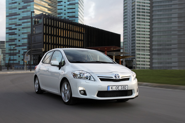 VCD Top Ten 1. Platz - Toyota Auris Hybrid