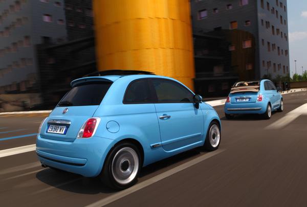 Fiat 500C und Fiat 500 TwinAir