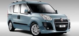 Erdgas-Autos: Neue Variante des Fiat Doblò Natural Power mit 120 PS