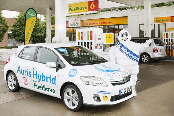 Toyota Auris Hybrid Eco Challenge